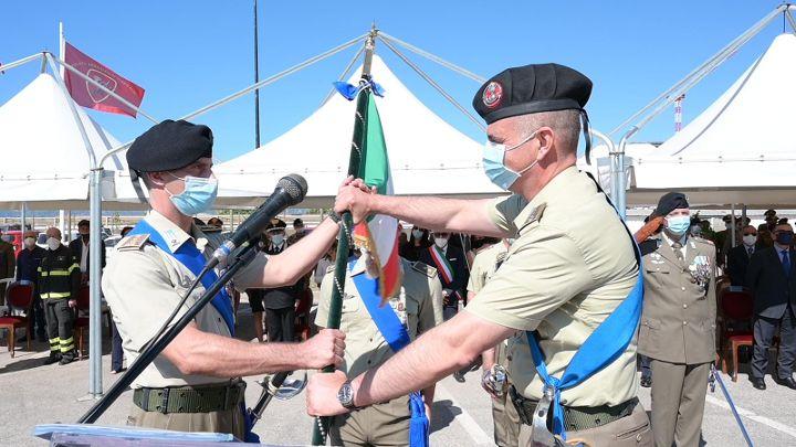 Guide, a Salerno Daniele Cesaro cede il comando a Luigi D'Altorio