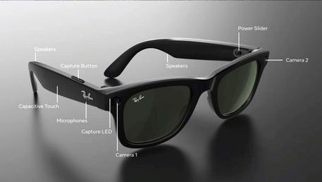 In Italia gli occhiali smart di Facebook-EssilorLuxottica