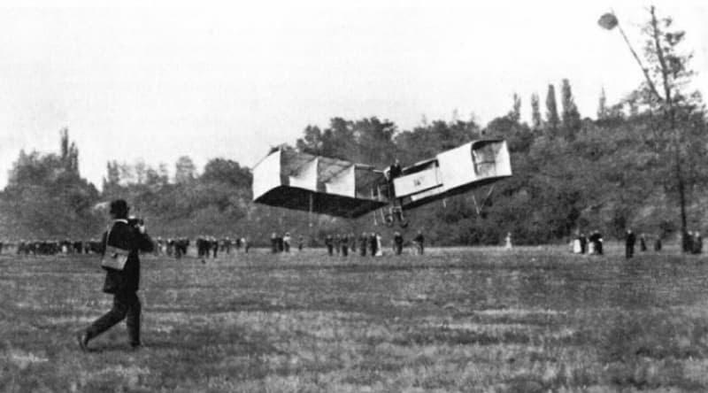 Primo volo in Europa il 13 settembre di 115 anni fa