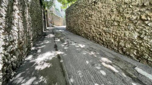 Ravello, ripavimentazione primo tratto di via dell'Annunziata