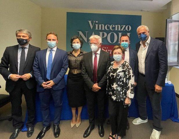 """Comunali Salerno, Piero De Luca(Pd) """"Importante il sostegno deciso di Italia Viva. Salerno deve continuare a brillare, come le sue Luci"""""""