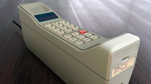 Il 21 settembre 1983, il giorno zero nella storia dei telefoni cellulari