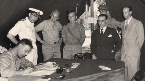 L'8 settembre 1943: l'Armistizio e l'inizio della Resistenza