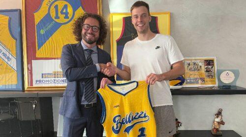 """Basket Bellizzi, Vytautas Jakubaitis: """"Felice di essere qui, impatto positivo con il coach e i compagni"""""""