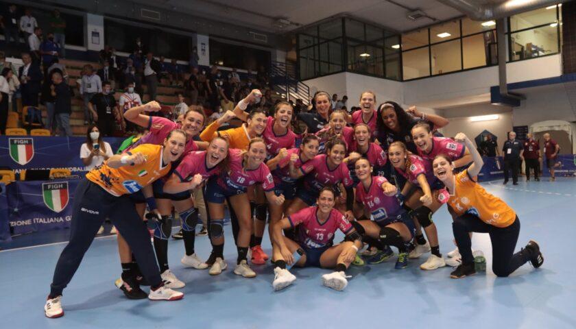 Il primo trofeo stagionale è della Jomi Salerno, sesta Supercoppa in bacheca per la società salernitana
