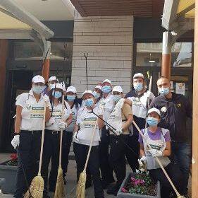 """Successo per l'iniziativa """"Le giornate insieme a te per l'ambiente""""  di McDonald's a Salerno: raccolti 36 kg di rifiuti"""