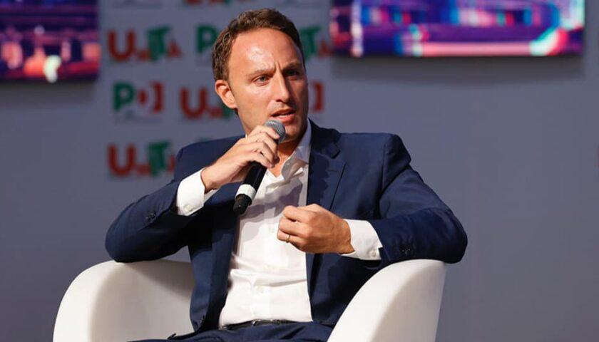 Piero De Luca (PD) incontra il Ministro tedesco agli Affari Europei, Michael Roth.