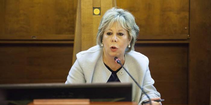 La presidente della Corte d'Appello di Salerno Iside Russo relatore giovedì sera al Panathlon Club Salerno