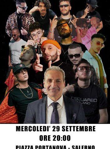 Comunali, Michele Sarno chiude stasera la campagna elettorale in piazza Portanova