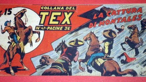 Il 30 settembre 1948 in edicola il primo numero di Tex