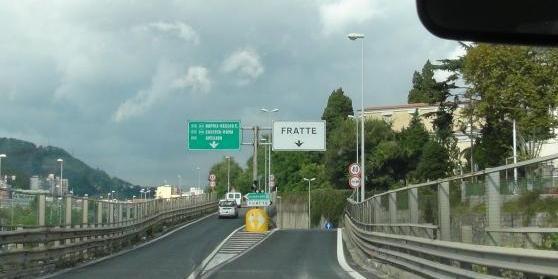 Salerno, da lunedì restringimento carreggiata in tangenziale direzione Fratte