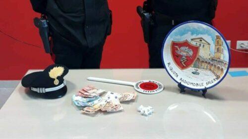 Salerno, spacciava cocaina: arrestato 24enne