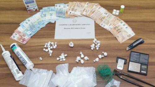 Spaccio di cocaina, arrestato 32enne a Oliveto Citra
