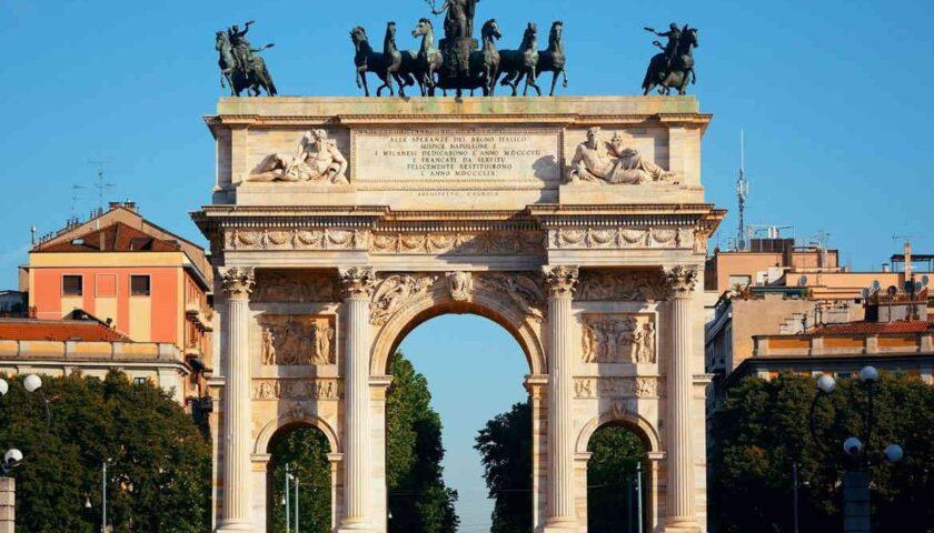 Il 10 settembre di 183 anni fa inaugurato a Milano l'Arco della Pace