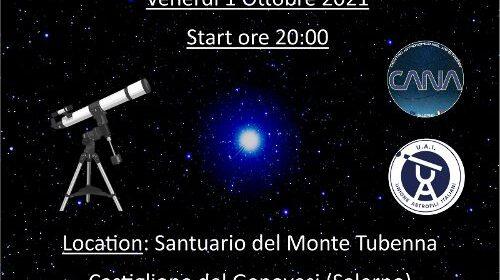 Castiglione del Genovesi, venerdì si osserveranno i pianeti del sistema solare e altri oggetti celesti dal Monte Tubenna