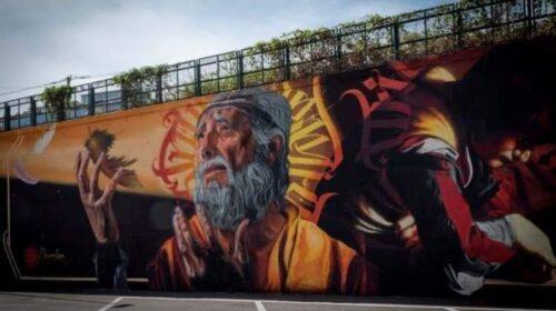"""Murales a Salerno, il sindaco: """"Spettacolo in via Vinciprova"""""""
