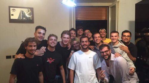 Salerno, il ritorno a casa di Guglielmo tra amici e famiglia