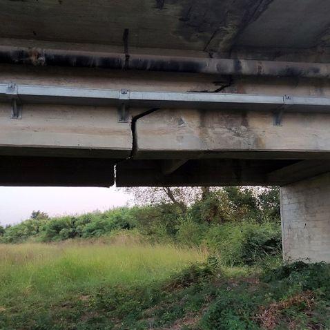 """Ponte del fiume Alento, Strianese: """"Nessuna crepa, trattasi di discontinuità strutturale"""""""