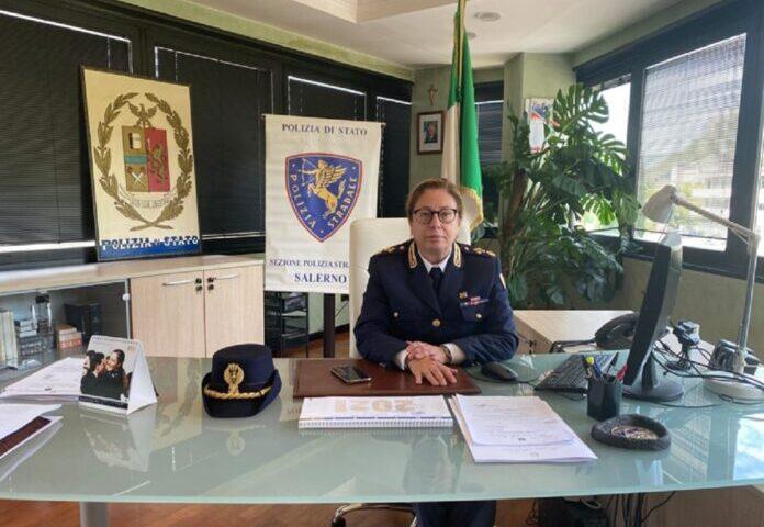 Galli Lama nuovo primo dirigente della Polizia Stradale di Salerno