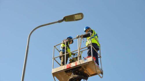 Strade, a Pontecagnano e Battipaglia i lavori di installazione e ripristino illuminazione