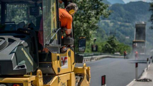 Oggi i lavori a Castelnuovo di Conza sulla SR 91