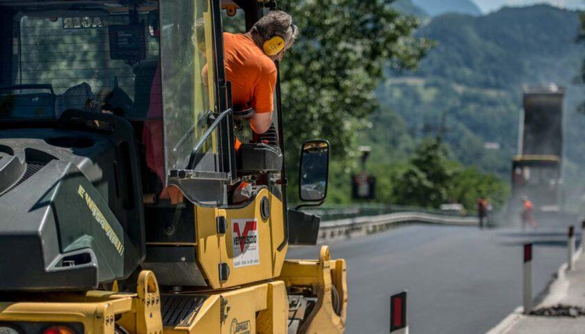 Strade, a Campagna e Oliveto Citra i lavori di messa in sicurezza