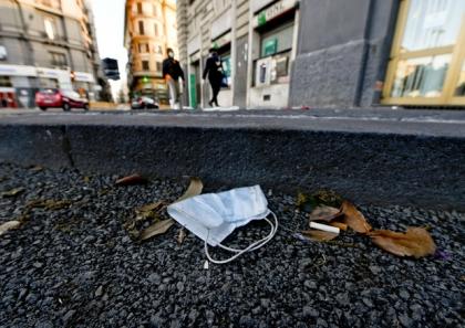 A Salerno 8,5 di rifiuti legati al Covid ogni Km