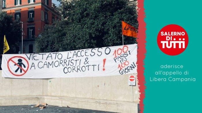 """Lambiase (Salerno di Tutti): """"Aderiamo all'appello di Libera, serve impegno contro i clan"""""""