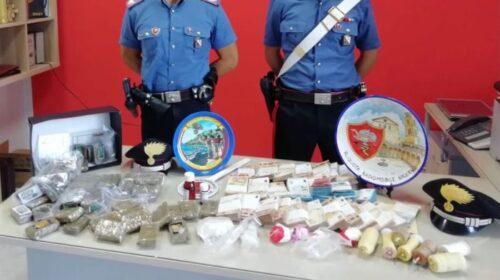 Salerno, chili di droga ed esplosivi: arrestati due fratelli a Pastena