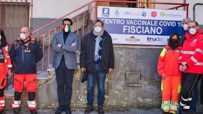 Terza dose di vaccino anti Covid anche a Fisciano: associazione la Solidarietà pronta