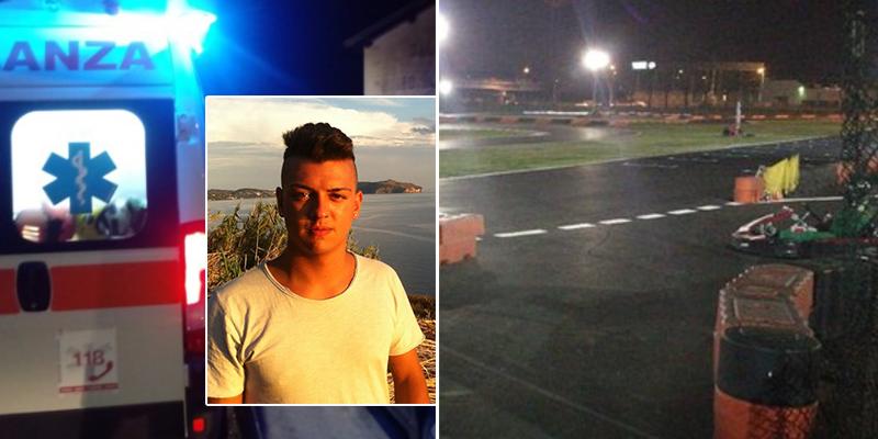 Malore sulla pista di go Kart a Sarno, è il 27enne Caccavale il giovane deceduto