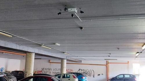 Roccapiemonte, sanificato il parcheggio interrato di via Zanardelli