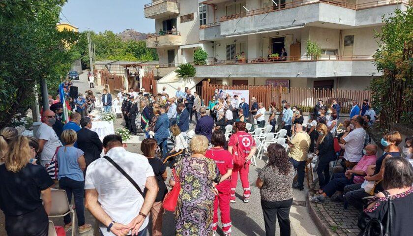 Roccapiemonte, ecco via Biagio Torino: intitolazione al militare dell'Esercito morto in un incidente