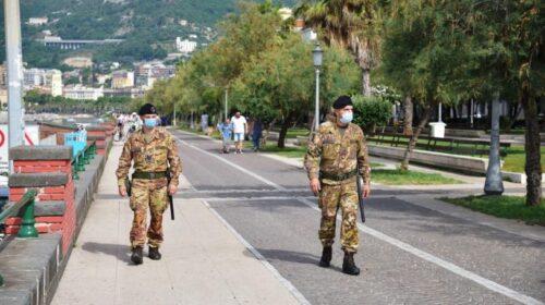 Salerno, Militari dell'Esercito sventano il furto di un furgone