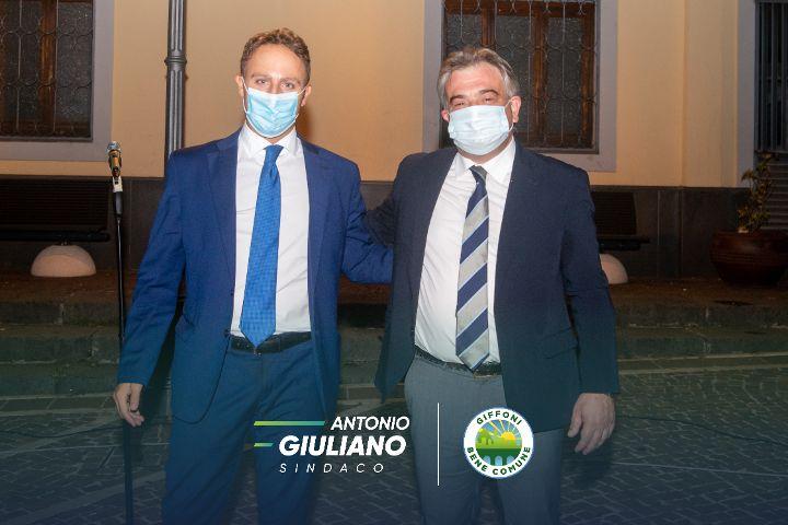 """GIFFONI BENE COMUNE, PIERO DE LUCA SOSTIENE ANTONIO GIULIANO: """"DARE CONTINUITA' AD UNA GRANDE FAVOLA POLITICA"""""""