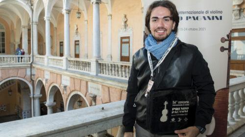 Premio Paganini al salernitano Gibboni, i complimenti di De Luca