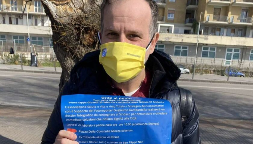 """All'ambientalista Lorenzo Forte non bastano 400 preferenze. """"Continueremo la nostra battaglia anche fuori dal Comune"""""""