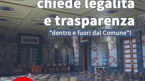 Appalti e arresti, Salerno di tutti chiede trasparenza e legalità