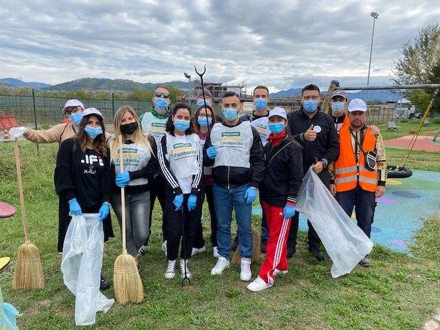 """Conclusa con successo l'iniziativa """"Le giornate insieme a te per l'ambiente""""di McDonald's a Pontecagnano Faiano: raccolti 40kg di rifiuti"""