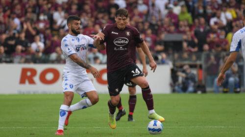 Non basta il cambio tecnico, Salernitana superata all'Arechi anche dall'Empoli
