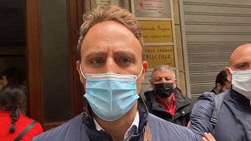 """Guerriglia a Roma, Piero De Luca porta solidarietà alla Cgil di Salerno: """"Assalto alla nostra democrazia"""""""