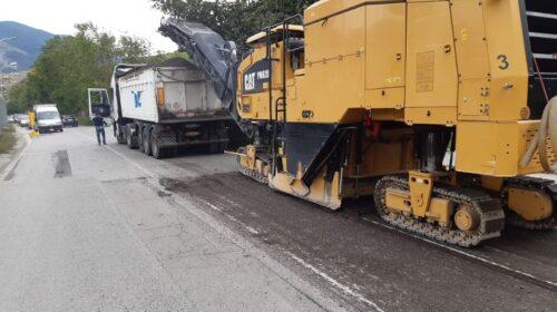 Continuano i lavori a Nocera Inferiore sulla Strada Provinciale 101