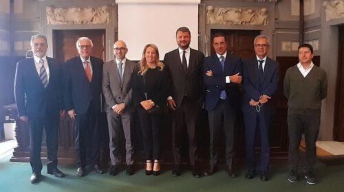 Firmato protocollo d'intesa tra Assemblea Parlamentare del Mediterraneo, Camera di Commercio di Salerno, Innexta e Università degli Studi di Salerno