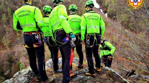 Escursionista belga salvato dal soccorso Alpino dopo una caduta in Costiera Amalfitana