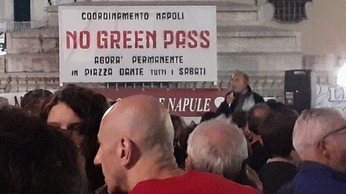 No green pass, manifestazioni a Napoli