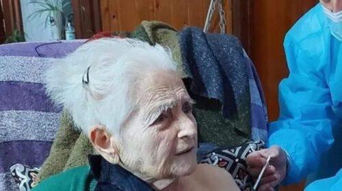 Montano Antilia, terza dose di vaccino per nonna Amalia di 104 anni