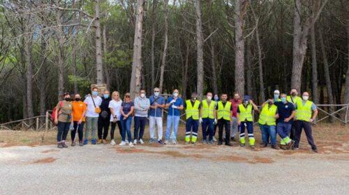 Rovella, volontari puliscono area presso Madonna dell'Eterno