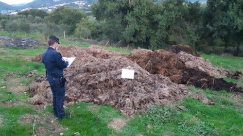 Ambiente, sequestro e denunce ad Olevano sul Tusciano