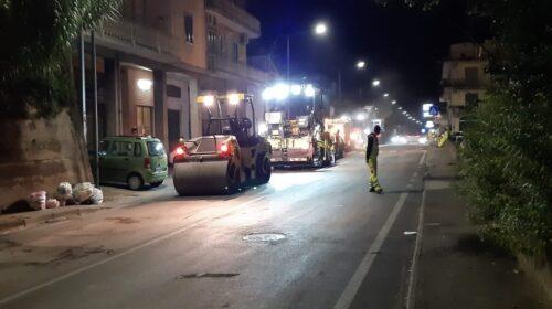 A Roccapiemonte proseguono I lavori di messa in sicurezza della Sp107