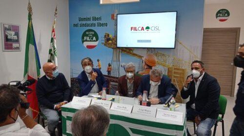 Nuova sede della Filca Cisl a Salerno nel ricordo di Giovanni D'Ambrosio